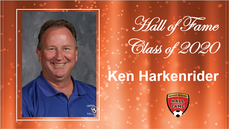 Hall of Fame Ken Harkenrider