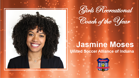 Girls Recreational Coach Jasmine Moses