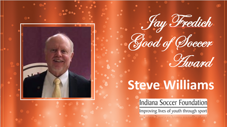 Jay Fredich Good Soccer Steve Williams